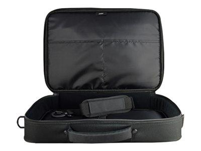 "Techair Classic Clam Case 15.6"" - Black"