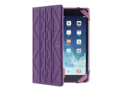 "Techair 7"" Purple-Pink Flip and Reverse Universal Tablet Case"