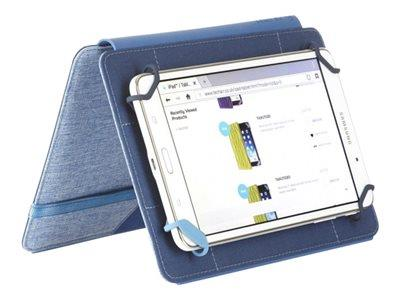 "Techair 7""-8"" Blue Eazy Stand Universal Tablet Case"