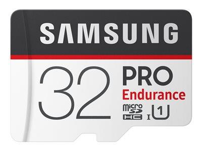 Samsung PRO Endurance 32GB Micro SDHC Flash Memory Card