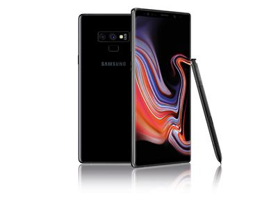 "Samsung Galaxy Note 9 128GB 6.4"" - Midnight Black"