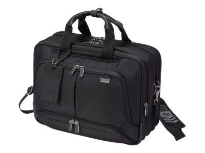 "Dicota Top Traveller Twin PRO Notebook Carrying Case 14-15.6"" - Black"
