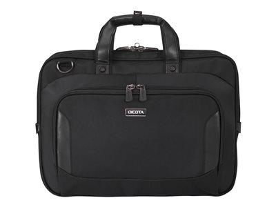 "Dicota Top Traveller Business Laptop Bag 13-14.1"" - Black"