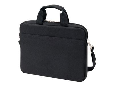 "Dicota Slim Case BASE Notebook carrying case 15-15.6"" - Black"