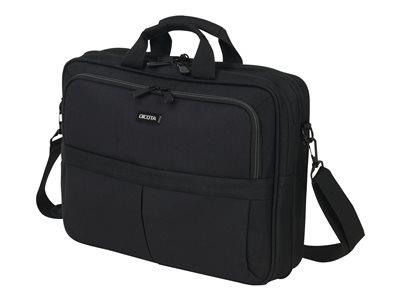 "Dicota Top Traveller SCALE Notebook Carrying Case 15-17.3"" - Black"