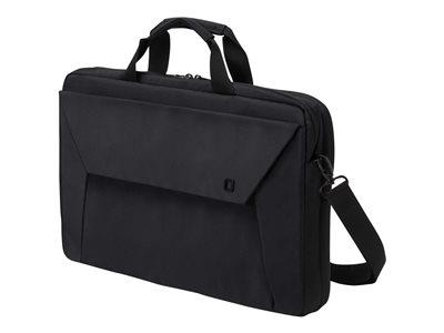 "Dicota Slim Case Plus EDGE Notebook Carrying Case 12-13.3"" - Black"
