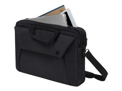 "Dicota Slim Case Plus EDGE Notebook Carrying Case 14-15.6"" - Black"