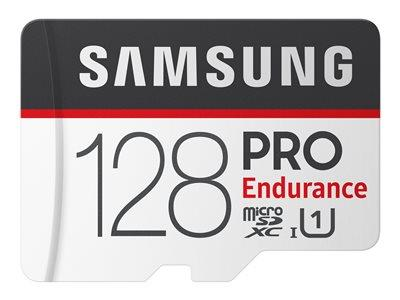 Samsung PRO Endurance 128GB Micro SDXC Flash Memory Card