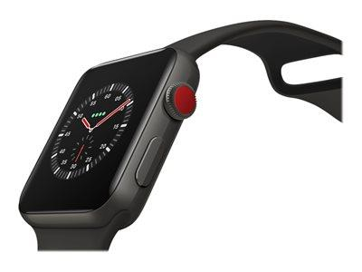 ad0a2d575d1 BT Business Direct - Apple Watch Series 3 GPS + Cellular, 38mm Space Grey  Aluminium Case with Black Sport Band (MTGP2B/A)