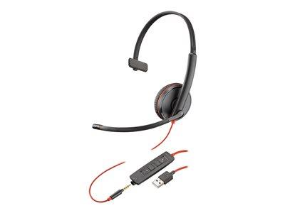 Poly Plantronics Blackwire C3215 Mono USB Wired Headset