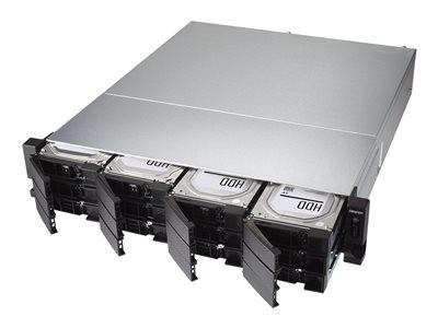 QNAP TS-1277XU-RP-1200-4G 12 Bay Rack Mountable
