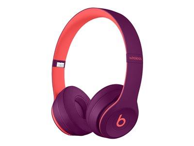Beats Solo3 Wireless On-Ear Headphones - Beats Pop Collection - Pop Magenta