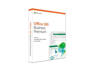 Microsoft Office 365 Business Premium 'in a box' 1 year subscription/license