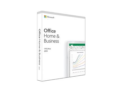 Microsoft Office Home & Business 2019 Box Pack (Medialess, 1 PC, One Time Purchase)