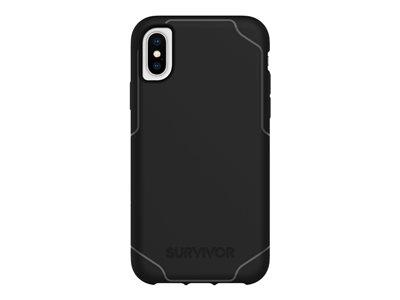 Griffin Survivor Strong for iPhone X/Xs - Black