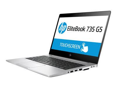 "HP EliteBook 735 G5 Ryzen 7 2700U 8GB 256GB SSD 13.3"" Touchscreen Windows 10 Professional 64-bit"