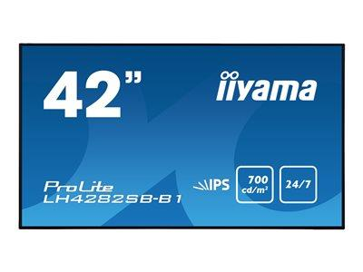 "iiyama ProLite LH4282SB-B1 42"" 1920x1080 8ms VGA DVI HDMI DisplayPort LED Large Format Display"