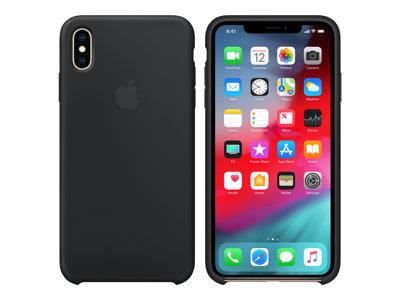 Apple iPhone XS Max Silicone Case – Black