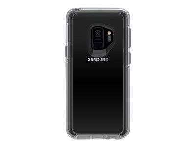 OtterBox Symmetry Series Clear Back cover for Samsung S9 - Clear