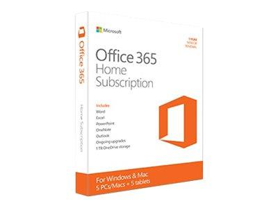 Microsoft Office 365 Home 1 year Digital Download