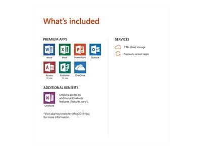 Microsoft Office 365 Home - Box Pack (1 year)