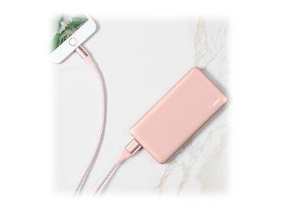Belkin Pocket Power 5K Power Bank - Rose Gold