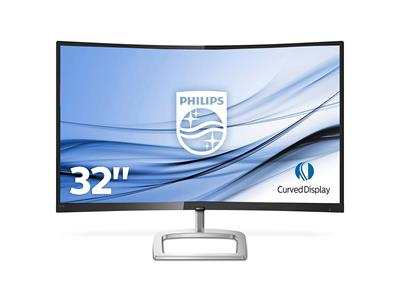 "Philips 328E9FJAB E Line 32"" 2560 x 1440 5ms VGA DVI LED Monitor"