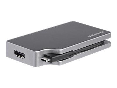StarTech.com USB C Adapter - HDMI & VGA, PD