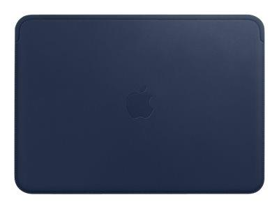 "Apple Leather Sleeve for 12"" MacBook Midnight Blue"