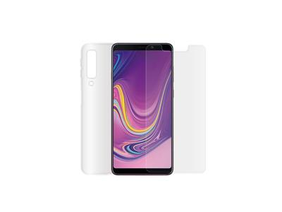 Minute One Glass Screen Protector + Clear Case Bundle - Galaxy A9