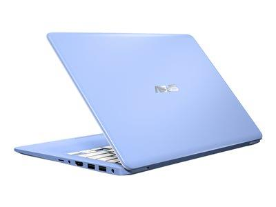 "Asus VivoBook Celeron N4000 4GB 64GB EMMC 14"" Windows 10S - Iris Blue"