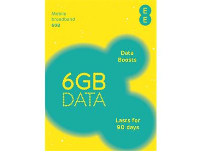 EE PAYG 4G MBB Multi SIM 6GB 90 Day Data SIM