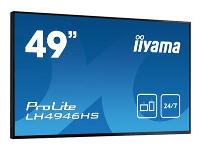 "iiyama ProLite LH4946HS-B1 49"" 1920x1080 12ms VGA DVI HDMI LED Large Format Display"