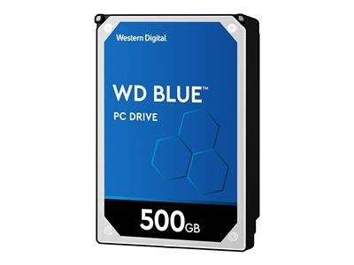 "WD 500GB Blue 2.5"" 7mm SATA 6Gb/s 8MB Hard Drive"