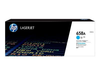 HP 658A Cyan Original LaserJet Toner Cartridge