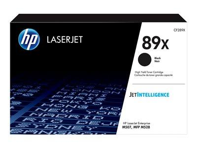 HP 89X High Yield Black Original LaserJet Toner Cartridge