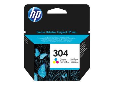 HP 304 Tri-color Original Ink Cartridge