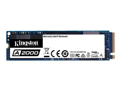 Kingston 256GB A2000 M.2 NVMe PCIe SSD XTS-AES 256-bit