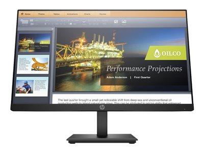 "HP P224 21.5"" 1920x1080 5ms VGA HDMI DisplayPort LED Monitor"