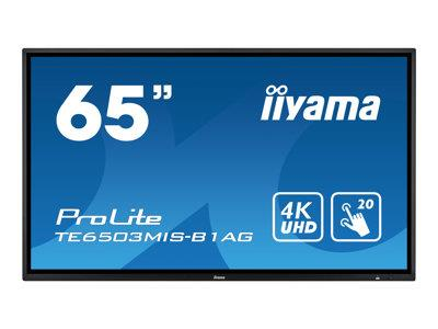 iiyama ProLite TE6503MIS-B1AG 65'' 3840x2160 6ms VGA HDMI USB IPS LED Large Format Display