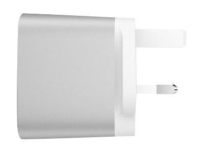 Belkin 4.8Amp Dual USB-A Home Charger UK Plug