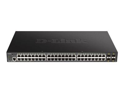 D-Link DGS-1250-52XMP 52-port Smart Managed PoE Ethernet Switch
