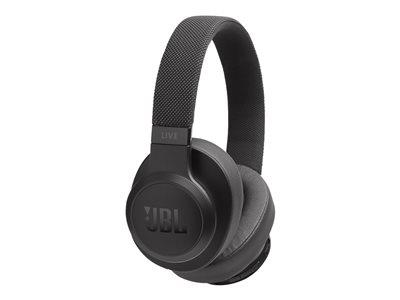 JBL Live 500 Over-Ear Wireless Headphones - Black