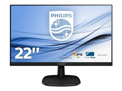 "Philips V-line  22"" 1920 x 1080 4ms VGA/HDMI/DVI-D LED Monitor"