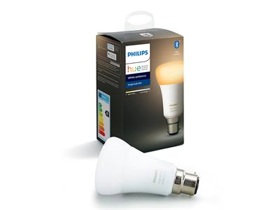 Philips Hue White Ambiance B22 Single Bulb