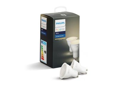 Philips Hue White Ambiance GU10 Twin Pack