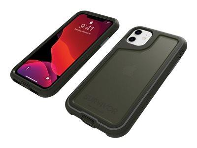 Griffin Survivor Endurance for iPhone 11 - Black/Gray/Smoke
