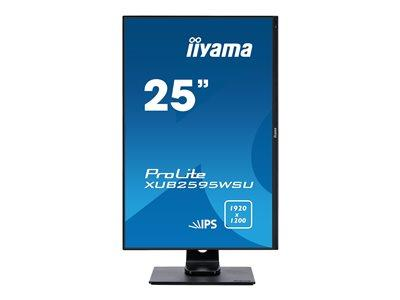 "iiyama ProLite XUB2595WSU-B1 25"" 1920x1200 5ms VGA HDMI DisplayPort IPS LED Monitor"