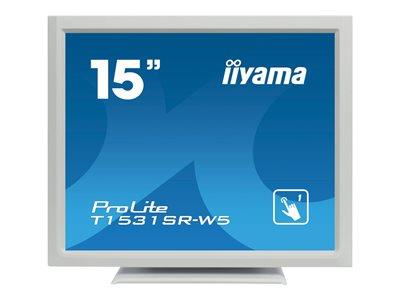 "iiyama ProLite T1531SR-W5 15"" 1024x768 8ms VGA HDMI DisplayPort Touchscreen LED Monitor"