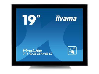 "iiyama ProLite T1932MSC-W5AG 19"" 1280x1024 14ms VGA HDMI DisplayPort Touchscreen IPS LED Monitor"
